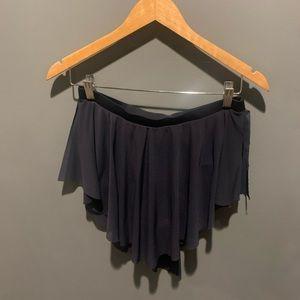 Balera Black Dance Skirt Adult Large